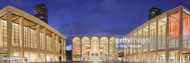 lincoln center - new york - the theater lincoln center stock photos and pictures
