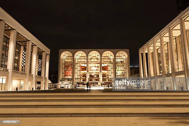 lincoln center - metropolitan museum of art new york city stock photos and pictures