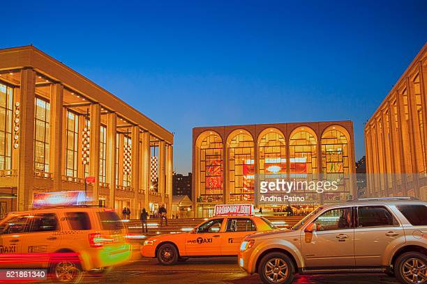 lincoln center - performing arts center stock pictures, royalty-free photos & images