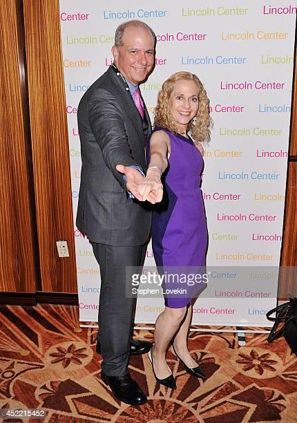 Lincoln Center President Jed Bernstein and Vicki Reiss attend The Lincoln Center Festival Celebration for The Bolshoi Ballet at Russian Tea Room on...