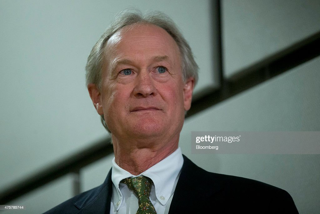 Former Rhode Island Governor Lincoln Chafee Makes Presidential Bid Announcement