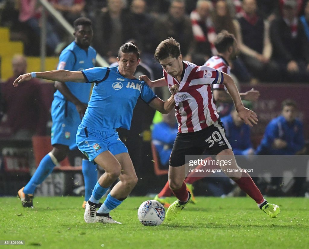 Lincoln City v Barnet - Sky Bet League Two : News Photo