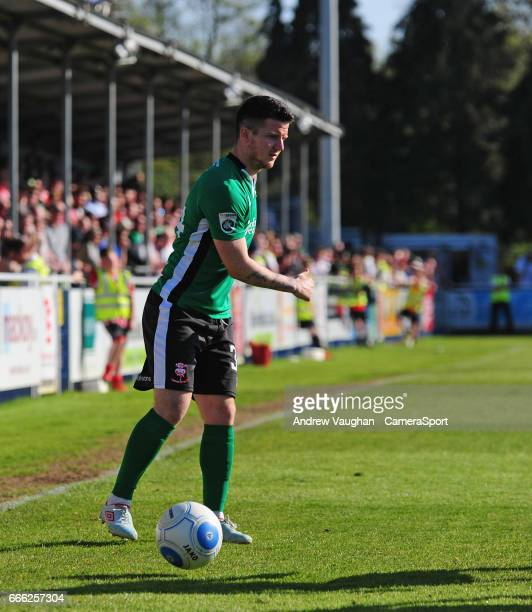 Lincoln City's Billy Knott during the Vanarama National League match between Eastleigh and Lincoln City at Silverlake Stadium on April 8, 2017 in...