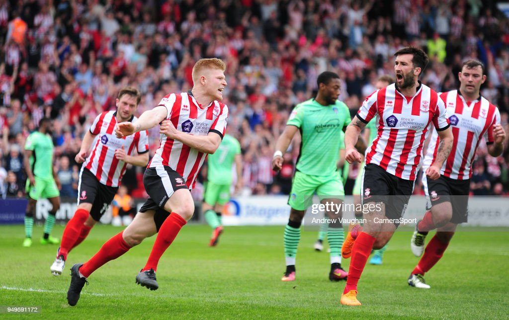 Lincoln City v Colchester United - Sky Bet League Two