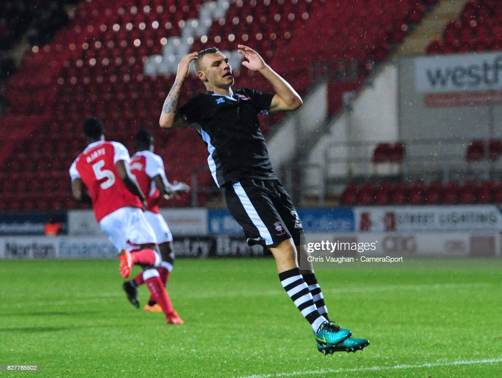 Rotherham United v Lincoln City - Carabao Cup First Round