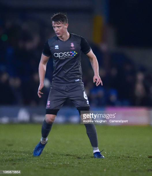 Lincoln City's Mark O'Hara during the Sky Bet League Two match between Bury and Lincoln City at Gigg Lane on January 26 2019 in Bury United Kingdom