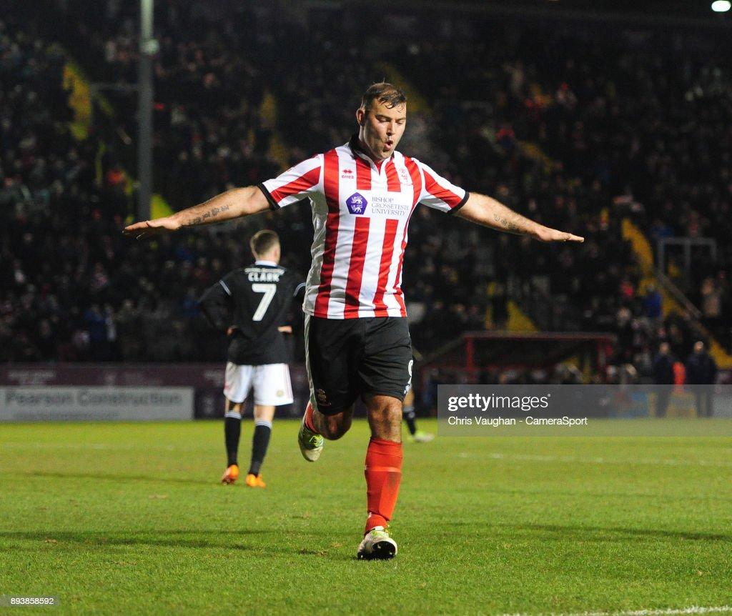 Lincoln City v Accrington Stanley - Sky Bet League Two