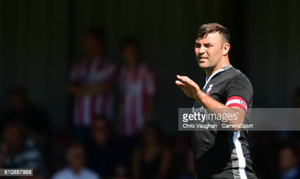 Lincoln City's Matt Rhead during the preseason friendly match between Lincoln United and Lincoln City at Sun Hat Villas Stadium on July 8 2017 in...