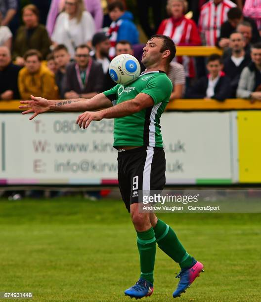 Lincoln City's Matt Rhead during the Vanarama National League match between Southport and Lincoln City at Merseyrail Community Stadium on April 29...