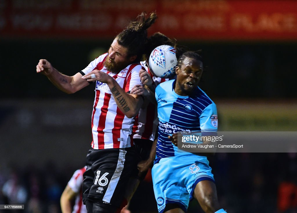 Lincoln City v Wycombe Wanderers - Sky Bet League Two : News Photo