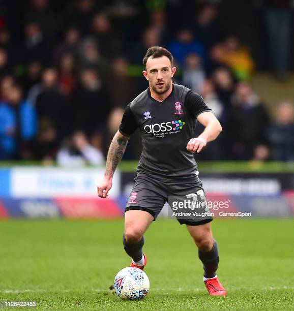 Lincoln City's Neal Eardley during the Sky Bet League Two match between Forest Green Rovers and Lincoln City at The New Lawn on March 2 2019 in...