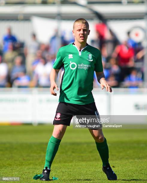 Lincoln City's Terry Hawkridge during the Vanarama National League match between Eastleigh and Lincoln City at Silverlake Stadium on April 8, 2017 in...