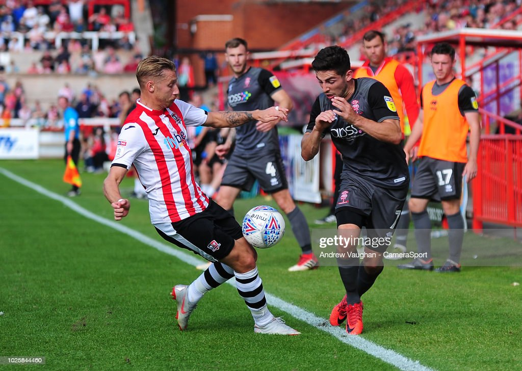 Exeter City v Lincoln City - Sky Bet League Two : News Photo