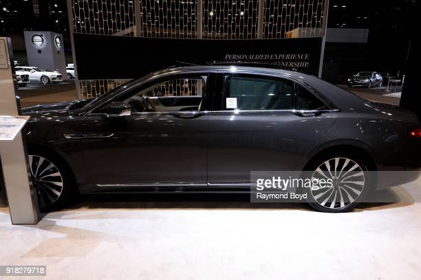 Lincoln Continental is on display at the 110th Annual Chicago Auto Show at McCormick Place in Chicago Illinois on February 8 2018