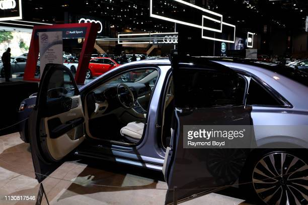 Lincoln Continental is on display at the 111th Annual Chicago Auto Show at McCormick Place in Chicago Illinois on February 8 2019