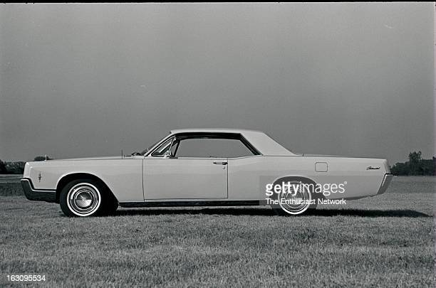 Lincoln Continental — Luxury in every sense of the word the 1966 Continental now boasts the largest passengercar engine in the industry — 462 cubic...