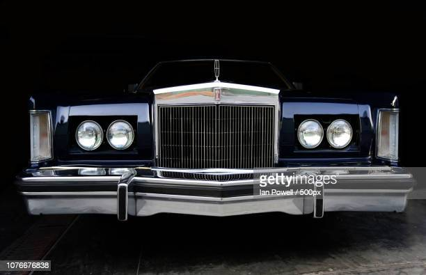 lincoln continental mark v 1979 bill blass - lincoln continental stock photos and pictures