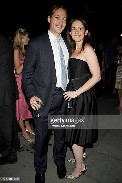 Lincoln Isetta and Danielle Dineen attend The Wildlife Conservation Society's SAFARI INDIA Gala at Central Park Zoo on June 3 2008 in New York City