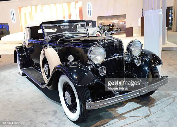 Lincoln KB LeBaron Convertible Roadster appears as part of Lincoln's Heritage On Display At Los Angeles Auto Show Press Day at Los Angeles Convention...
