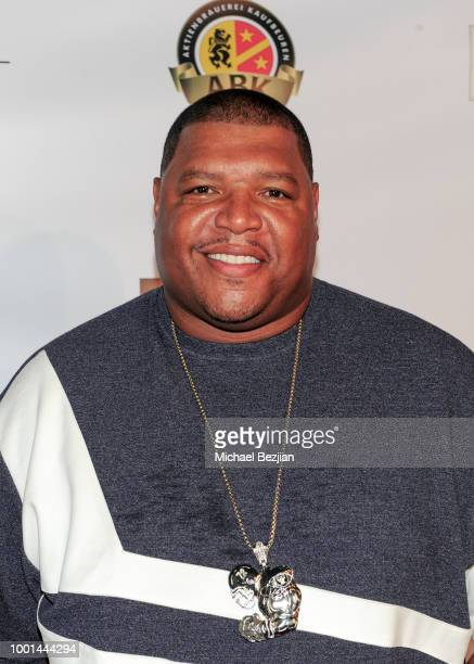 Lincoln Kennedy of the Oakland Raiders attends Game On Gala Celebrating Excellence In Sports at Boulevard3 on July 17 2018 in Hollywood California