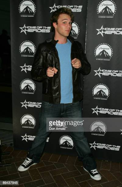 Lincoln Lewis arrives for the Paramount Home Entertainment Q4 launch at the Overseas Passenger Terminal on July 29, 2009 in Sydney, Australia.