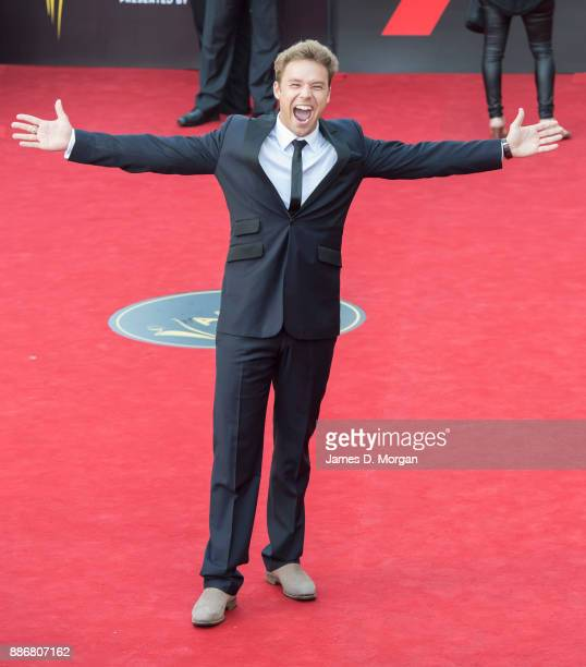 Lincoln Lewis during the 7th AACTA Awards at The Star on December 6 2017 in Sydney Australia