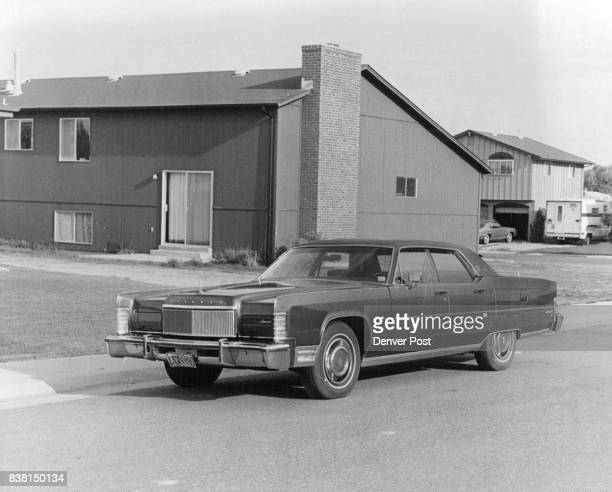 """Lincoln Lincoln Continental Town Car is for """"The Man Who Wants Everything"""" Credit: Denver Post"""