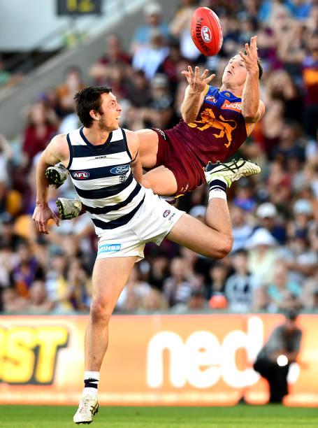 AUS: AFL Rd 22 - Brisbane v Geelong