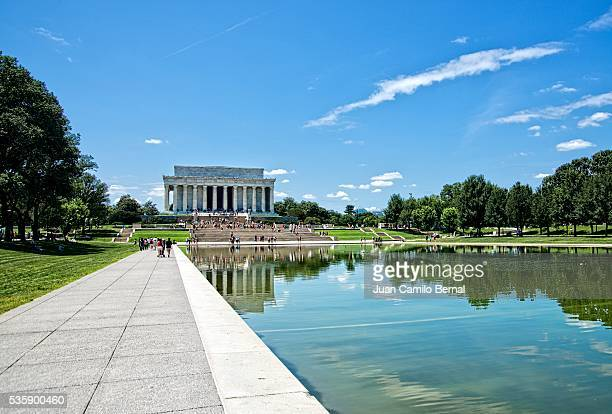 Lincoln Memorial building in Washington DC