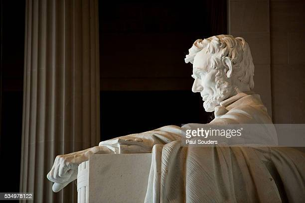 lincoln memorial in washington, dc - lincoln memorial stock pictures, royalty-free photos & images