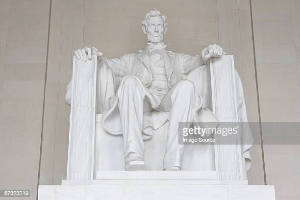 lincoln memorial statue - lincoln memorial stock pictures, royalty-free photos & images
