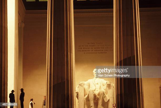 lincoln memorial - washington, dc - presidents day stock pictures, royalty-free photos & images