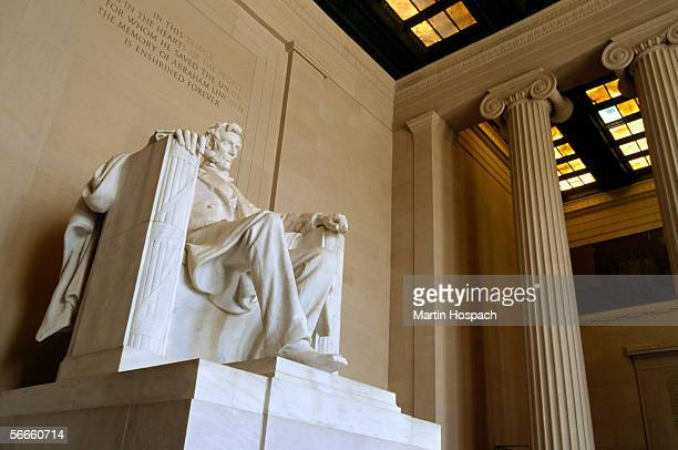 lincoln memorial, washington dc, united states of america - lincoln memorial stock pictures, royalty-free photos & images
