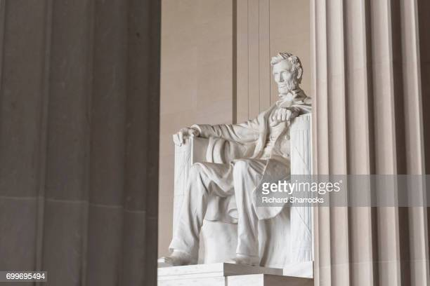 lincoln memorial, washington dc, usa - lincoln memorial stock pictures, royalty-free photos & images