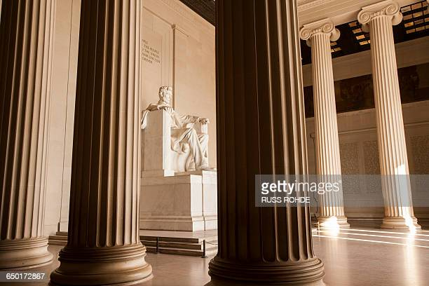 lincoln memorial, washington, usa - lincoln memorial stock pictures, royalty-free photos & images