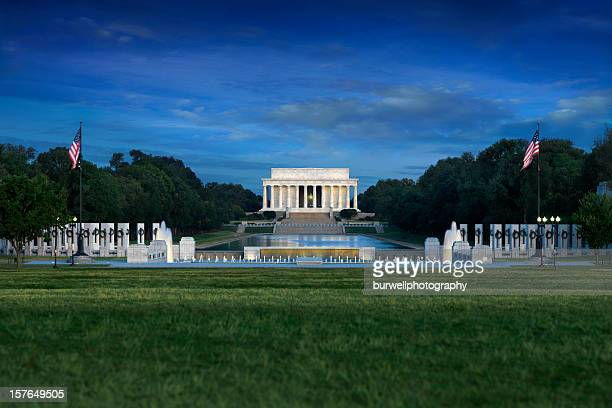 Lincoln Memorial with World War II, Washington DC