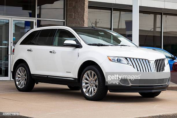 lincoln mkx limited edition - vehicle brand names stock photos and pictures