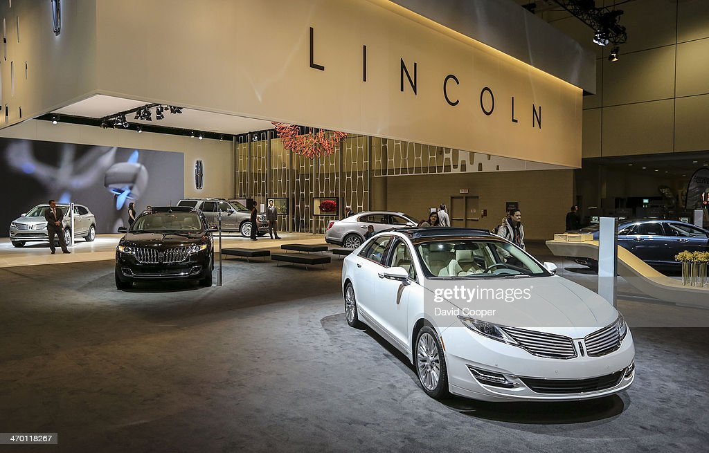 Canadian International Auto Show Pictures Getty Images - Lincoln car show