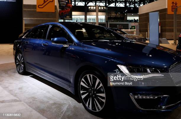 Lincoln MKZ is on display at the 111th Annual Chicago Auto Show at McCormick Place in Chicago, Illinois on February 8, 2019.