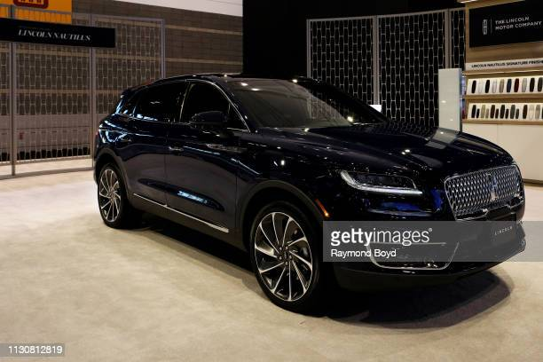 Lincoln Nautilus is on display at the 111th Annual Chicago Auto Show at McCormick Place in Chicago, Illinois on February 8, 2019.
