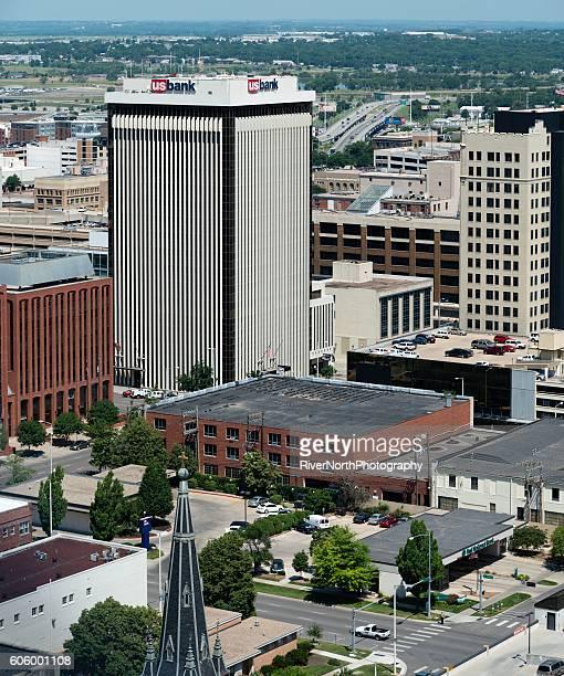 Lincoln, Nebraska Aerial View