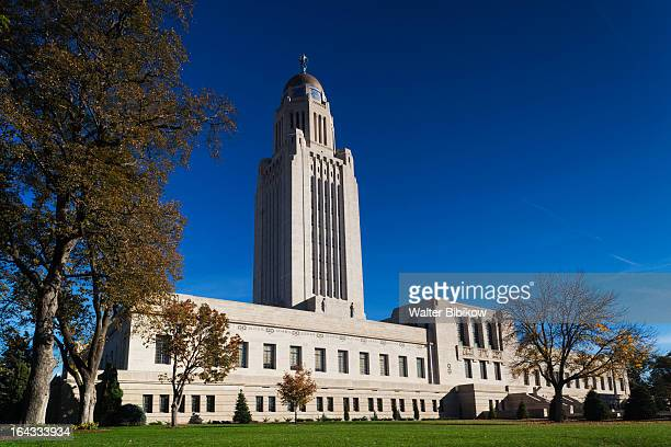lincoln, nebraska, exterior view - lincoln nebraska stock pictures, royalty-free photos & images
