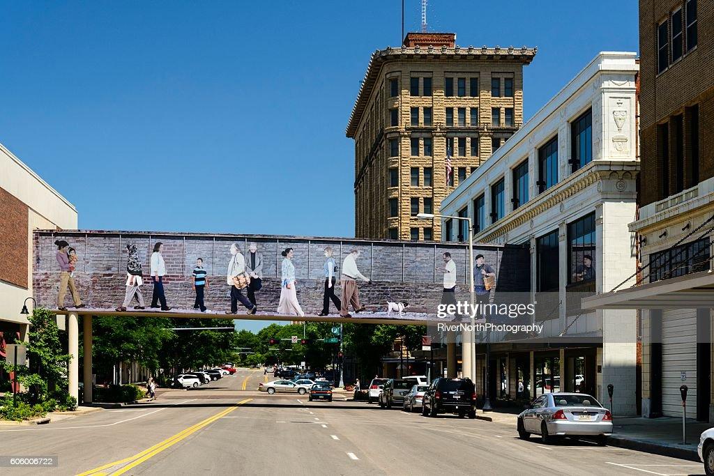 Lincoln, Nebraska Street Scene : Stock Photo