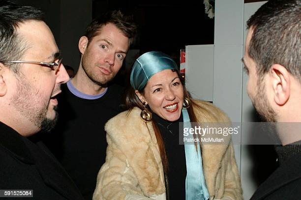 Lincoln Palsgrove and Sally Randall Brunger attend BoConcept KolDesign Hoilday Party at BoConcept on December 14 2005 in New York City