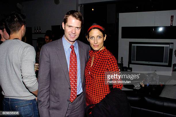 Lincoln Palsgrove IV and Lisa Edelstein attend KolDesign/BoConcept 5th Annual Holiday Party at BoConcept on December 11 2007 in New York City