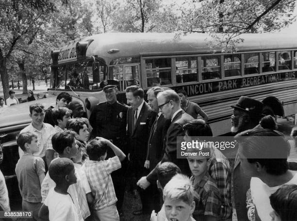 Lincoln Park Housing Project Lincoln Park Gets Gift of Bus A 1961 model 54passenger school bus for which the Lincoln Park community tried to raise...