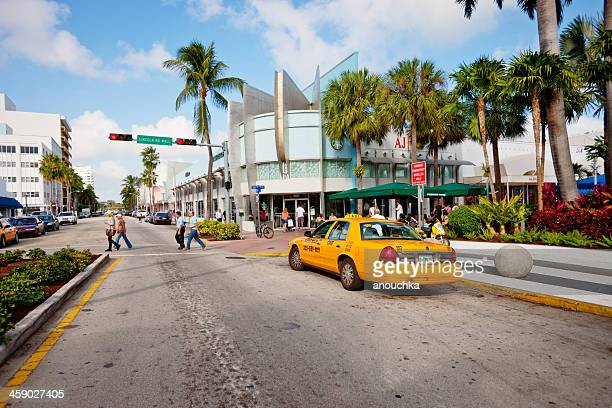 lincoln road mall, miami beach, usa - lincoln road stock pictures, royalty-free photos & images