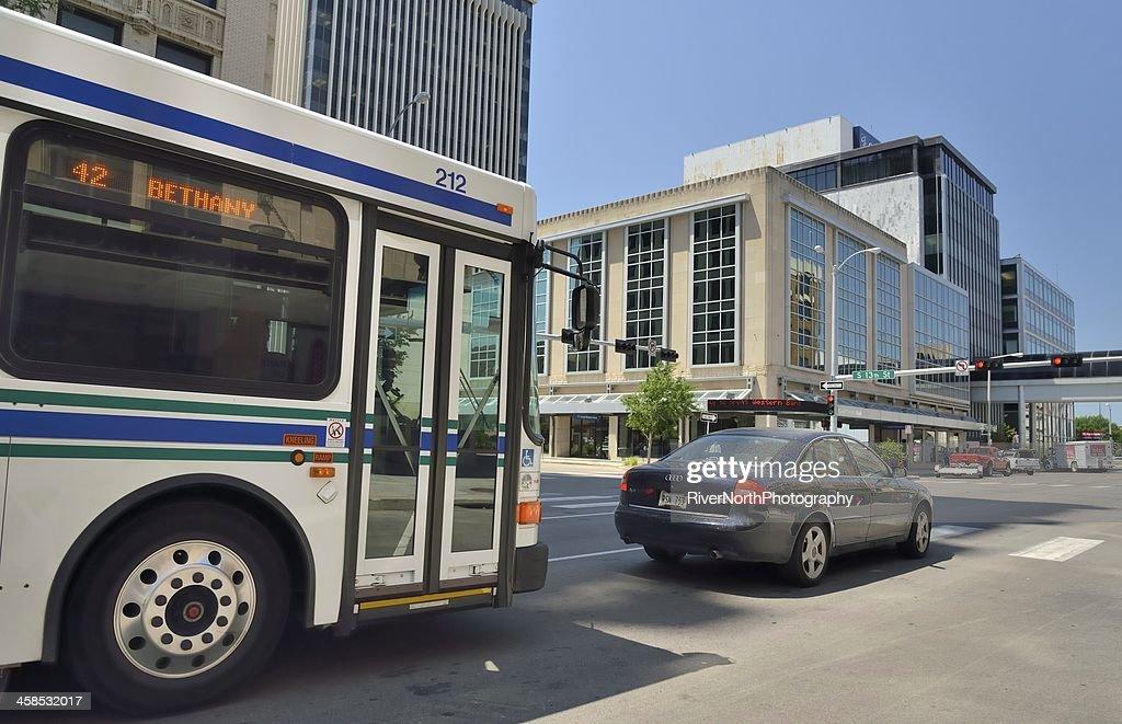 Lincoln Street Scene : Stock Photo