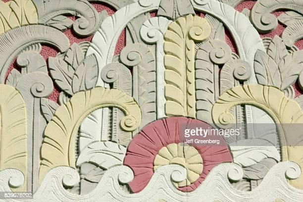 Lincoln Theatre ornamental detail.