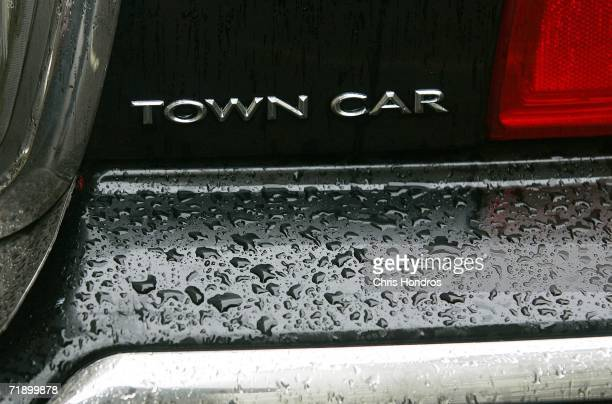 Lincoln Town Car logo hangs on a car September 15 2006 in New York City After speculation that Ford Motor Co would discontinue making the Lincoln...